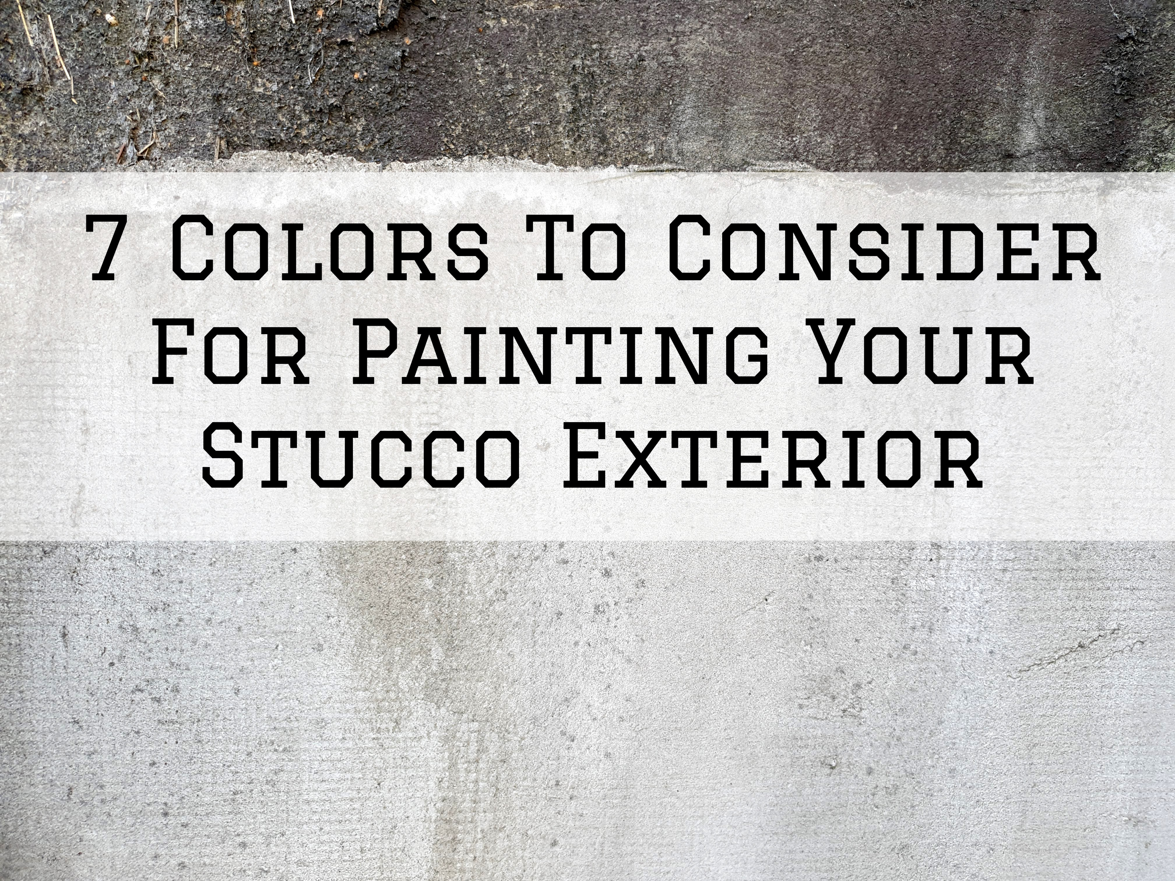 2021-02-02 Selah Painting St Louis MO Stucco Exterior Colors