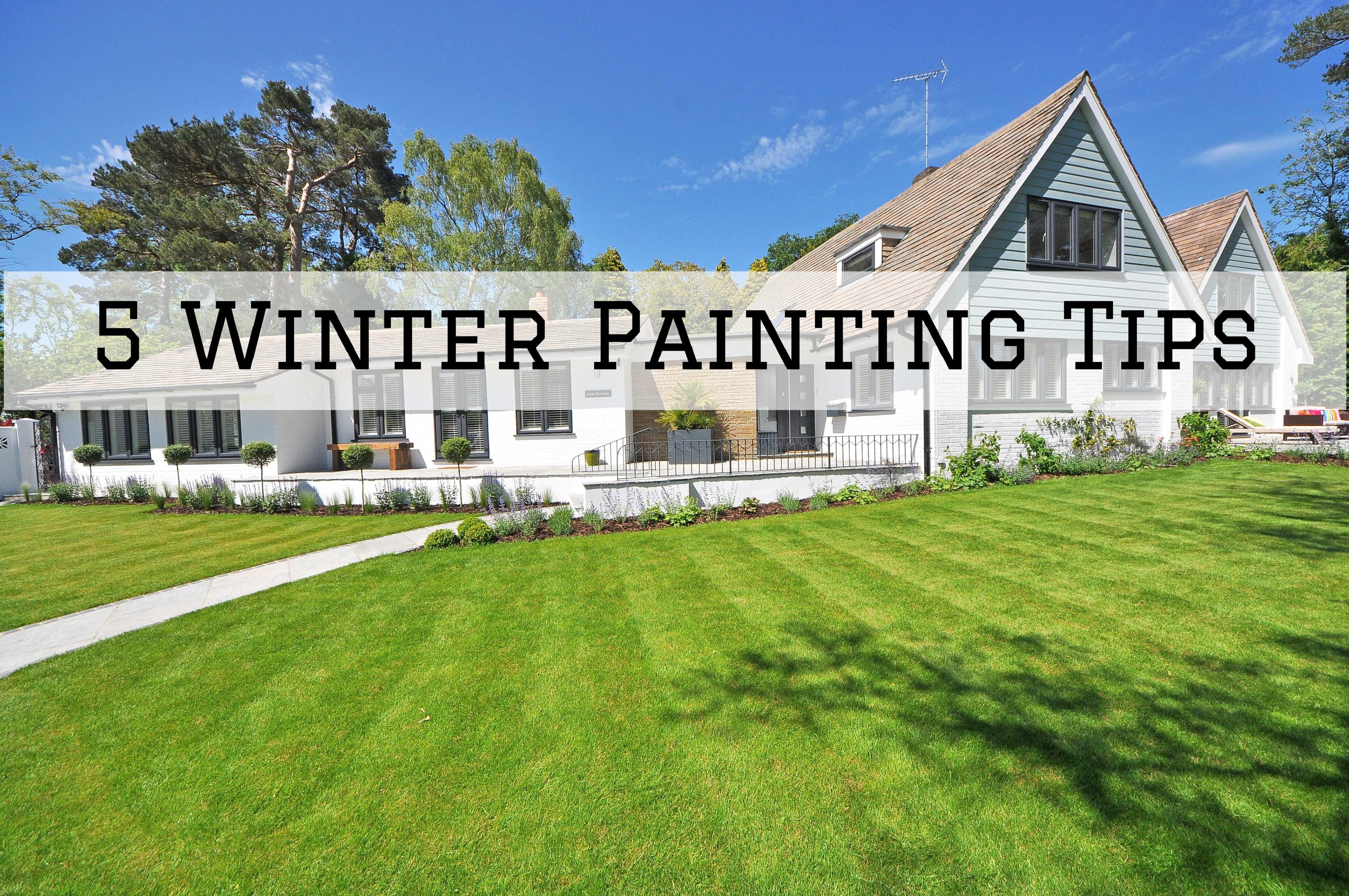 2021-08-16 Selah Painting St Louis MO Winter Painting Tips
